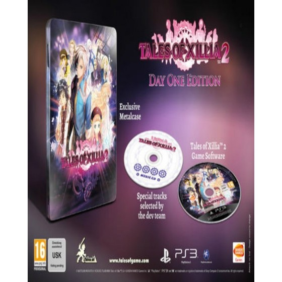 Tales Of Xillia 2 - Day One Edition - PS3