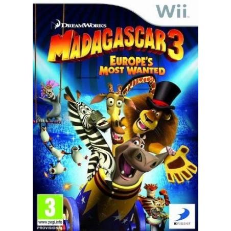 Madagascar 3 - Wii
