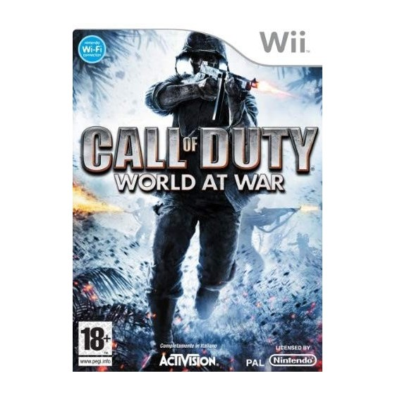 Call of Duty World at War - Wii