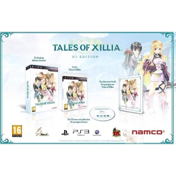 Tales Of Xillia - Day One Edition - PS3