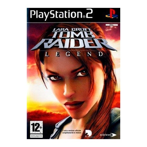 Lara Croft Tomb Raider Legend - PS2