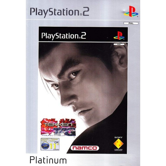 Tekken Tag Tournament - Platinum - PS2