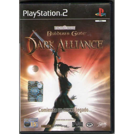 Baldur's Gate Dark Alliance - PS2