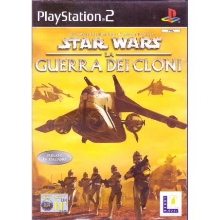 Star Wars La Guerra dei Cloni - PS2 usato