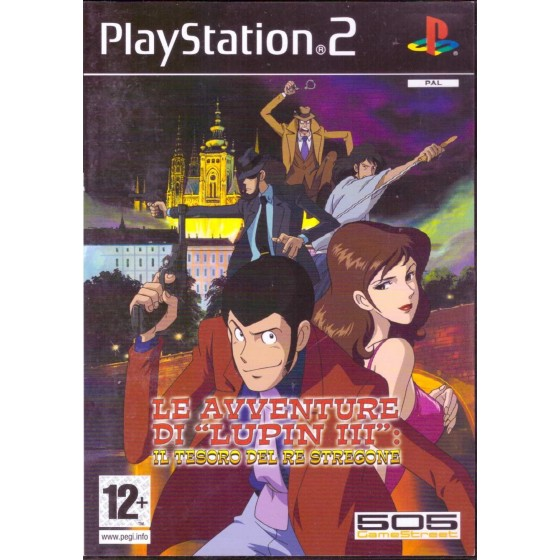 Le Avventure di Lupin III: Il Tesoro del Re Stregone - PS2