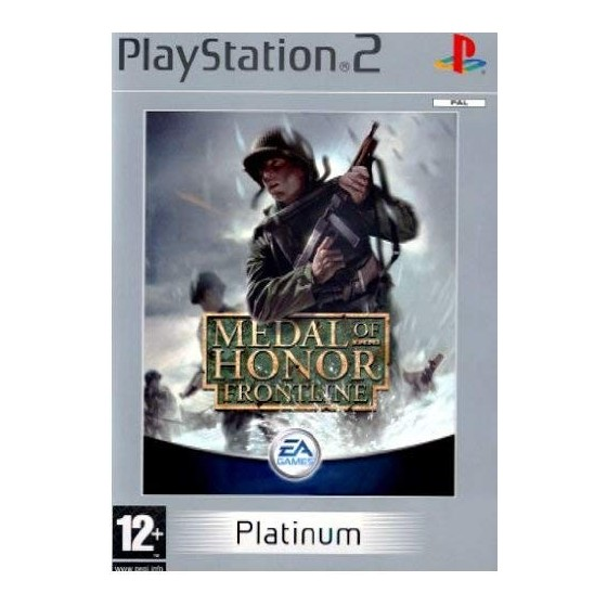 Medal of Honor Frontline - Platinum - PS2
