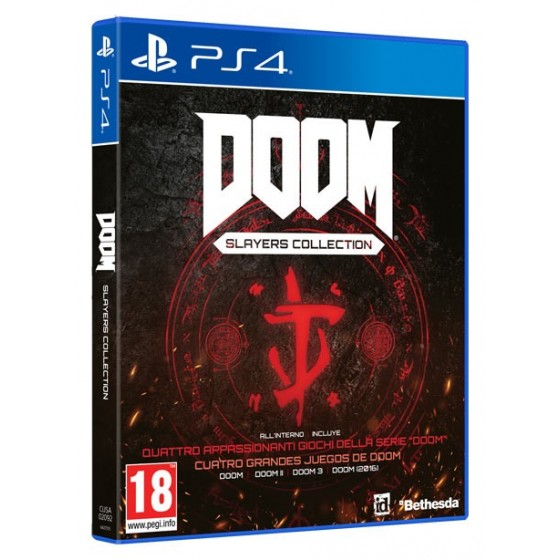 Doom Slayers Collection - Preorder PS4 - The Gamebusters