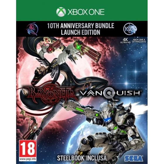 Bayonetta & Vanquish: 10th Anniversary Bundle - Xbox One - The Gamebusters
