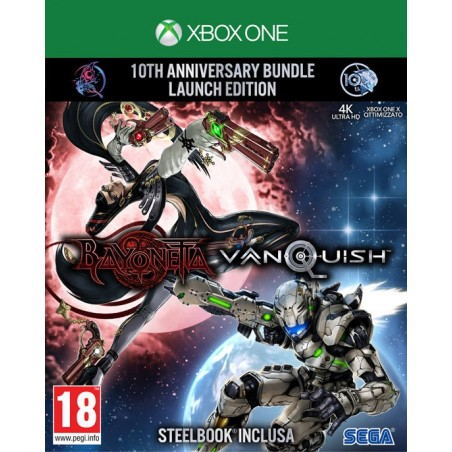 Bayonetta & Vanquish: 10th Anniversary Bundle - Preorder PS4 - The Gamebusters