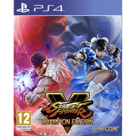 Street Fighter V - Champion Edition - Preorder PS4 - The Gamebusters