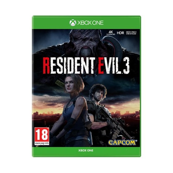 Resident Evil 3 - Preorder Xbox One - The Gamebusters