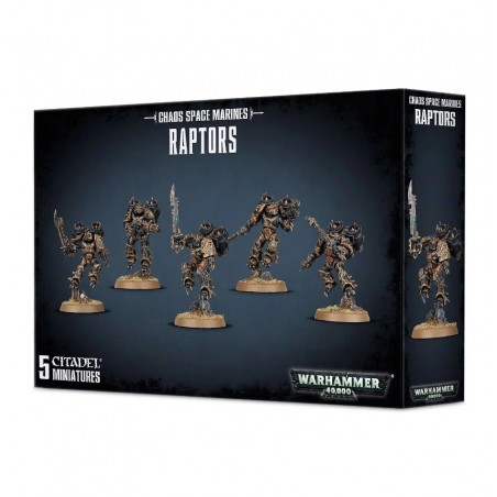 Warhammer 40.000 - Chaos Space Marines Raptors - The Gamebusters