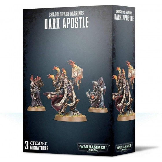 Warhammer 40.000 - Chaos Space Marines Dark Apostle - The Gamebusters