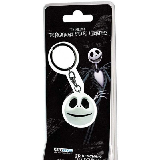 ABYstyle - Portachiavi 3D - Nightmare Before Christmas Jack
