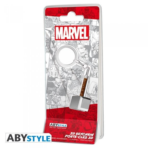 Portachiavi 3D - Marvel Thor's Hammer - ABYstyle