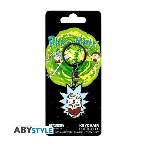 Portachiavi - Rick and Morty Rick - ABYstyle