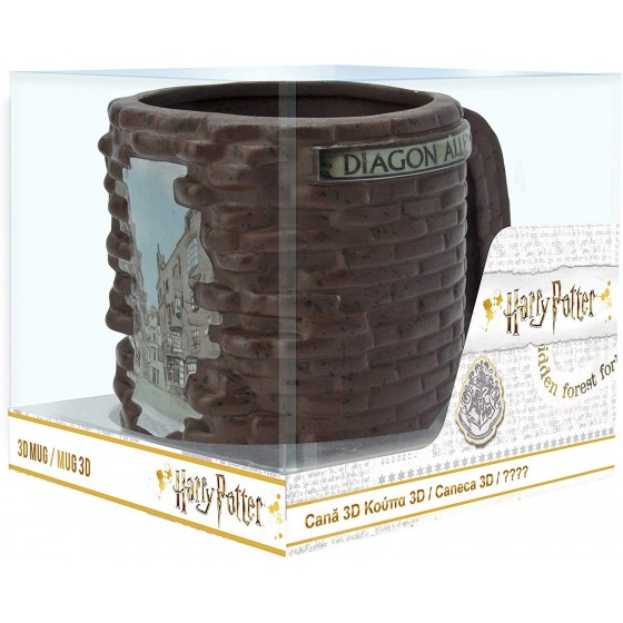 Tazza 3D - Harry Potter Diagon Alley - ABYstyle