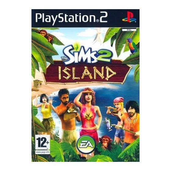 The Sims 2 Island - PS2