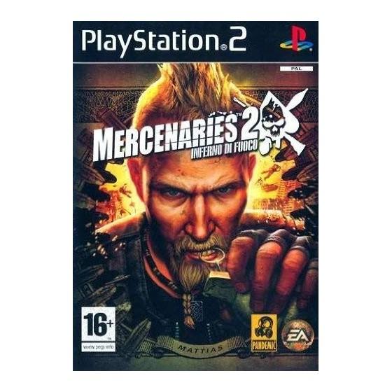 Mercenaries 2 Inferno di Fuoco - PS2