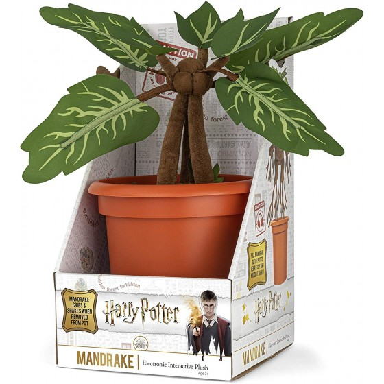 The Noble Collection Peluche Interattivo - Mandrake - Harry Potter