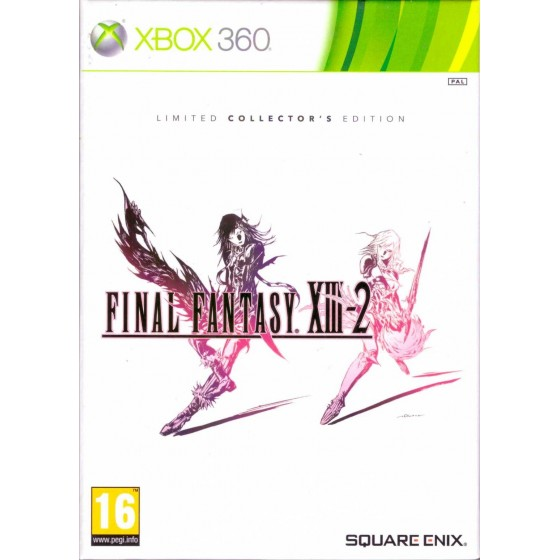 Final Fantasy XIII-2 - Limited Collector's Edition - Xbox 360