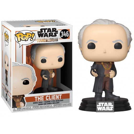 Funko Pop! - The Client (346) - Star Wars - The Gamebusters