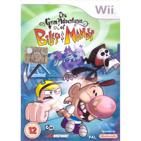The Grim Adventures of Billy & Mandy - Wii