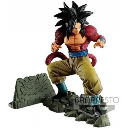 Action Figure - Son Goku Super Sayan 4 - Banpresto - Dragon ball Z