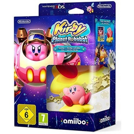 Kirby: Planet Robobot + Amiibo Kirby - 3DS