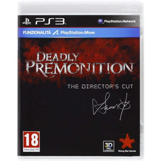 Deadly Premonition - The Director's Cut - PS3