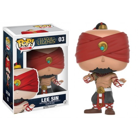 Funko Pop! - Lee Sin (03) - League of Legends