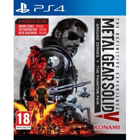 Metal Gear Solid V - The Definitive Experience - PS4