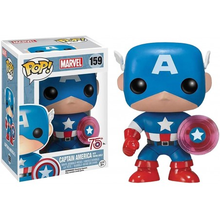 Funko Pop! - Capitan America (159) - Marvel