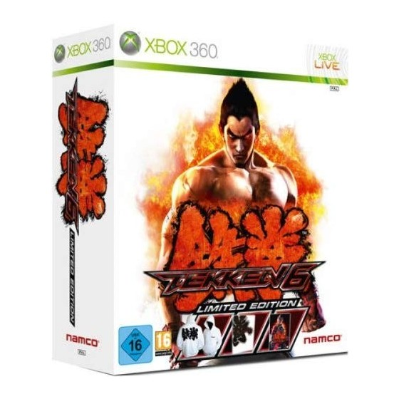 Tekken 6 - Limited Edition - Xbox 360