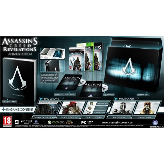 Assassin's Creed Revelations - Animus Edition - Xbox 360