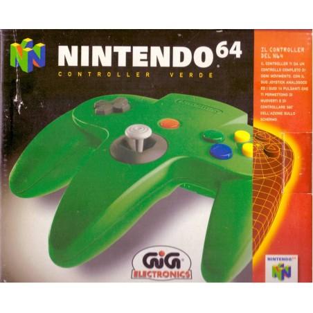 Controller Verde - Nintendo 64