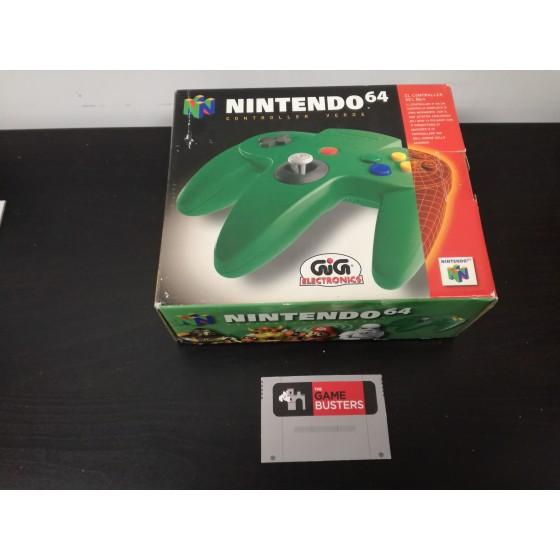 Controller Verde - Nintendo 64 usato