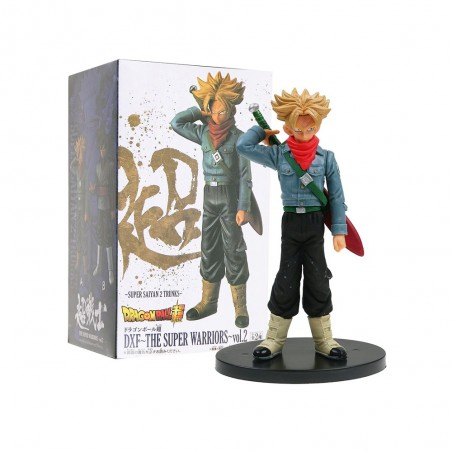 Banpresto Action Figure - DXF The Super Warriors vol.2 - Trunks Super Sayan- Dragon Ball Z Super
