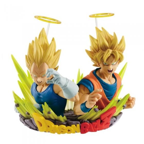 Com.Figuration Action Figure - Vegeta e Son Goku - Dragon Ball Z