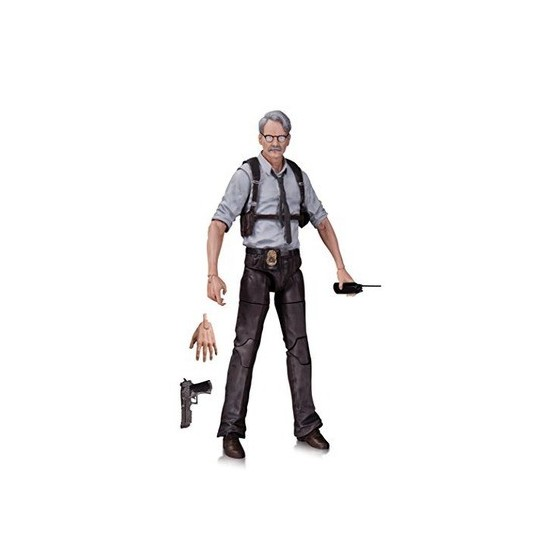 Dc Collectibles Action Figure - Commissioner Gordon - Batman Arkham Knight