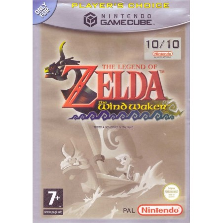 The Legend of Zelda The Wind Waker - Player's Choice - Gamecube