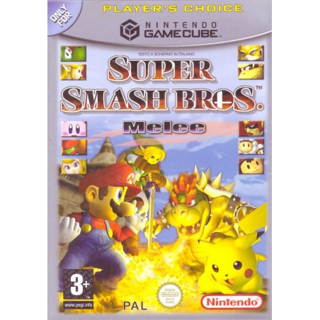 Super Smash Bros Melee - Player's Choice - Gamecube