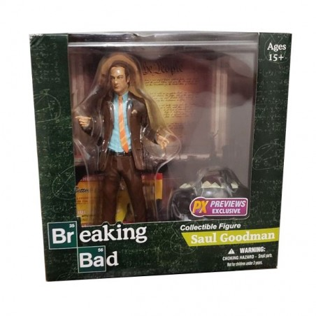 Mezco Action Figure - Saul Goodman - Breaking Bad