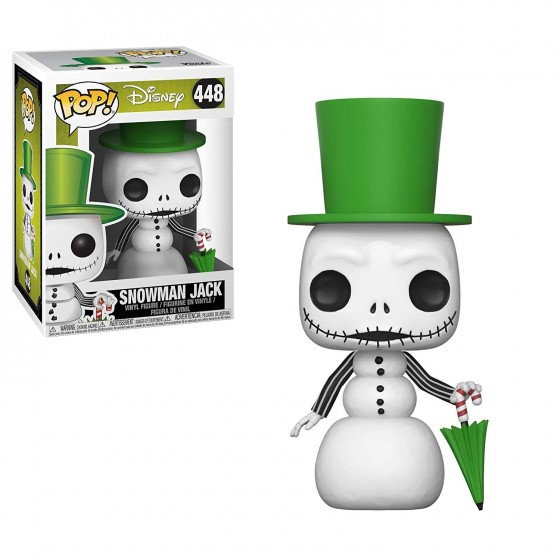 Funko Pop! - Snowman Jack (448) - The Nightmare Before Christmas