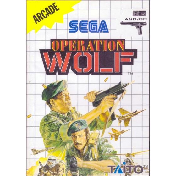 Operation Wolf - SEGA Master System