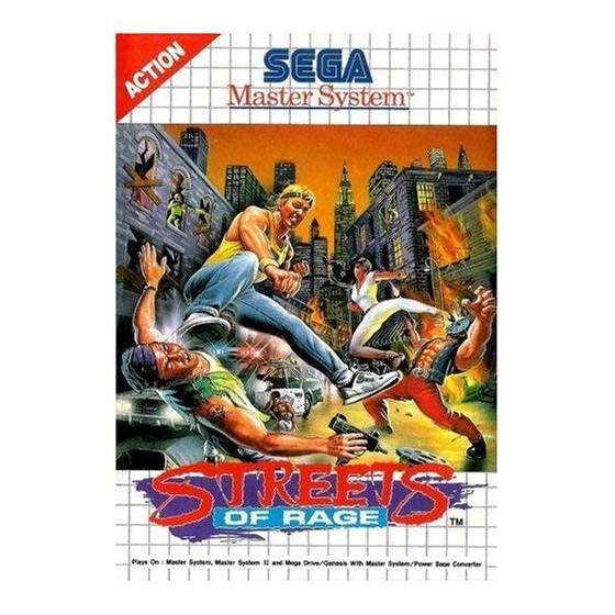 Streets of Rage - SEGA Master System