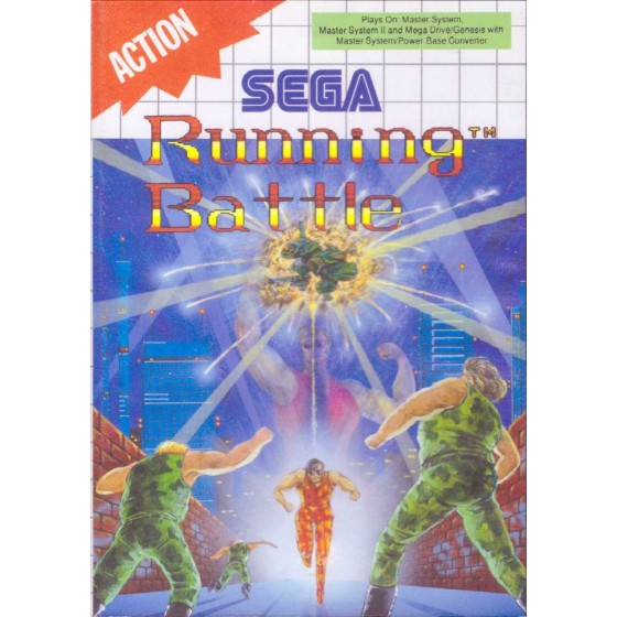 Running Battle - SEGA Master System