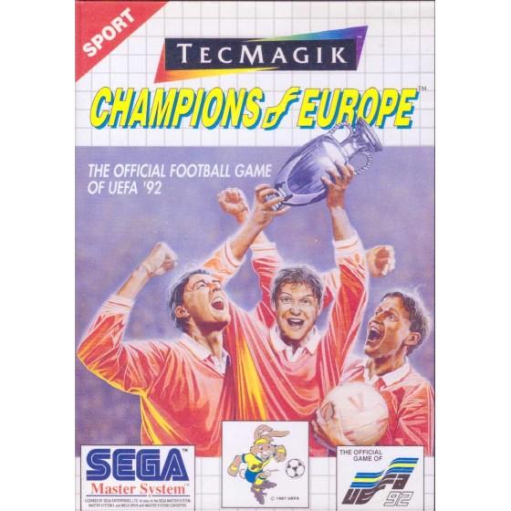 Champion of Europe - SEGA Master System