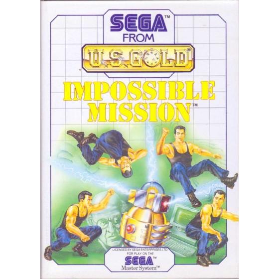 Impossible Mission - SEGA Master System
