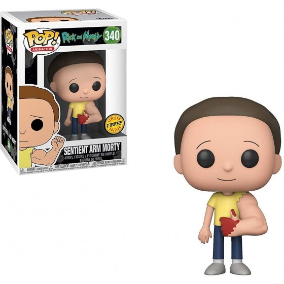 Funko Pop! - Sentient Arm Morty - Limited Edition (340) - Rick & Morty